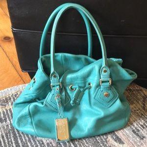Turquoise Marc Jacobs Bucket Bag